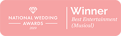 National Wedding Award Winner